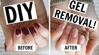 At-Home Gel Manicure Removal / NO FOILS, NO DAMAGE!