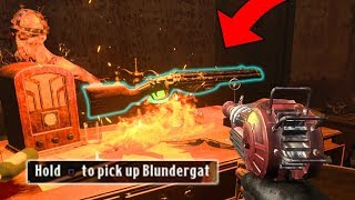 How To Get FREE BLUNDERGAT in BLOOD OF THE DEAD (Black Ops 4 Zombies Tutorial Skulls Location Guide)