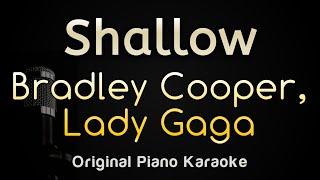 Shallow lady gaga bradley chooper piano karaoke songs with lyrics in original key versionshallow instrumentalshallow choope...