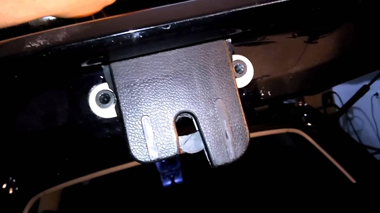 Passat B7 Rear Door Lock Broken Youtube