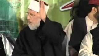 Dr Tahir ul Qadri on Irfan Shah & Abid Jalali the Kharjis of our time Munazra