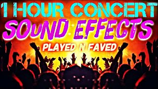 1 Hour Concert Sound Effects / Stage Applause / Screaming / Shouting / Stadium Crowds / Royalty Free