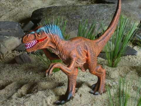 Prehistoric Scenes - Velociraptor Fantasy Kit