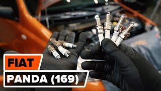 Skifte Dynamo FIAT PANDA: verkstedhåndbok