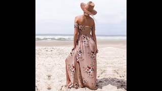 Off the shoulder dress for woman and ladies in 2019 | off the shoulder dress