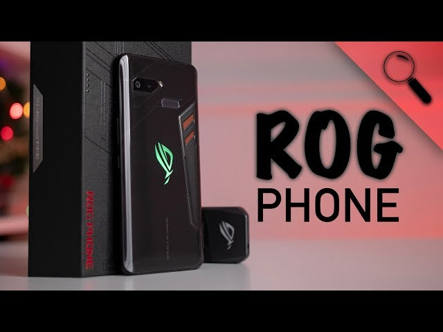 VÉGRE ITT VAN!   ASUS ROG Phone teszt