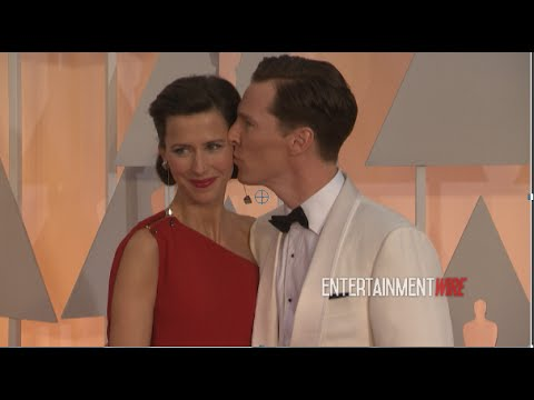 Benedict Cumberbatch and gorgeous wife Sophie Hunter 87th Annual Academy Awards Red carpet