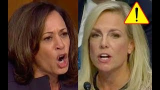 Kamala Harris Tries to Bully Kirstjen Nielsen then Kirstjen Gets Fed Up And Fights Back!