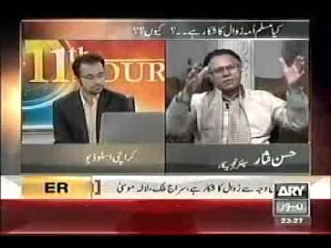 Hassan Nisar: Downfall of Muslim ummah