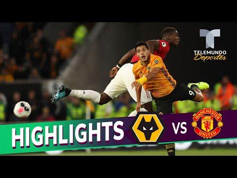 Wolverhampton vs. Manchester United: 1-1 Goals & Highlights | Premier League | Telemundo Deportes