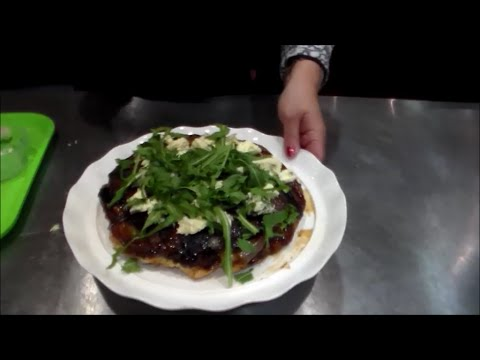 Cooking City Durban - Red Onion, Blue Cheese and Rocket Tart Titan