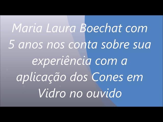 depoimento Maria Laura 5 anos