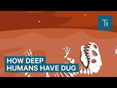 Incredible Animation Shows How Deep Humans Have Dug
