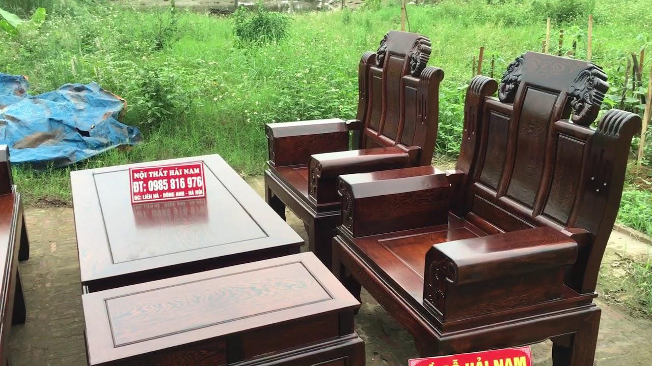Bộ bàn ghế có 1 không 2 âu á tay hộp gỗ mun đuôi công giá chỉ 27trieu đồng- lh 0985816976