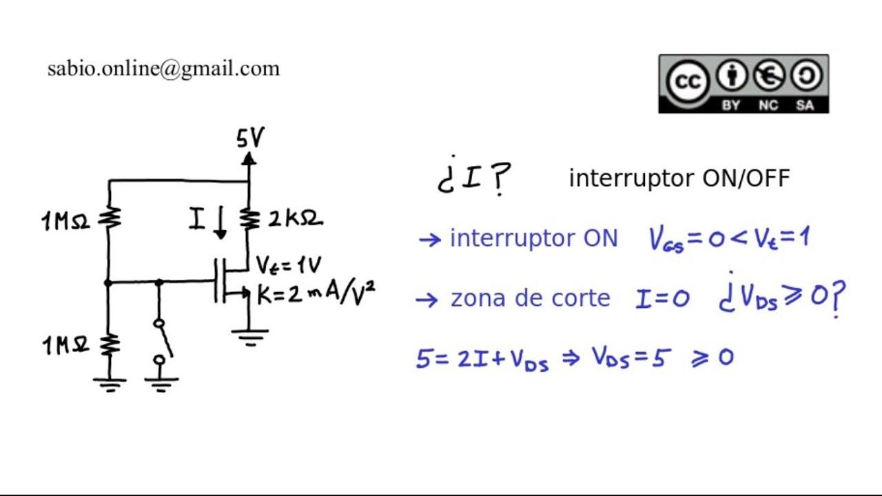 transistores mosfet ejercicios resueltos pdf