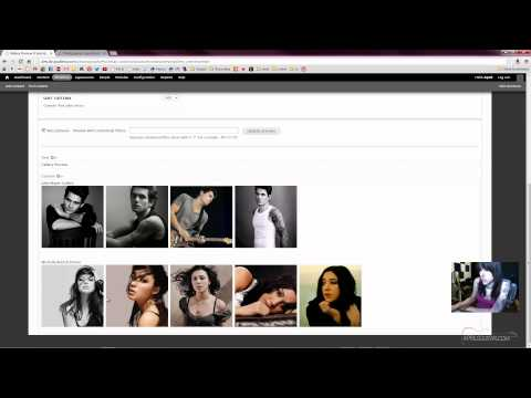 Part 2 of 4 - Drupal 7 Tutorial - Image Photo Gallery - Views - Pinterest - Colorbox