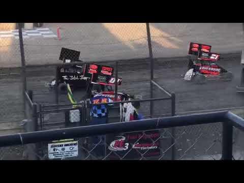 Lemoore Raceway 8/24/19 Jr Sprint Heat- Ty