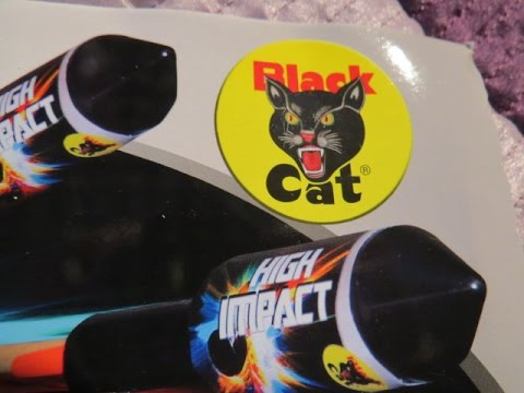 Black Cat High Impact Rockets