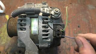 Генератор 27060-46320 от Toyota на газ-31105 часть 1