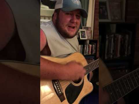 I Know She Ain't Ready Luke Combs COVER By Caleb Gilbert
