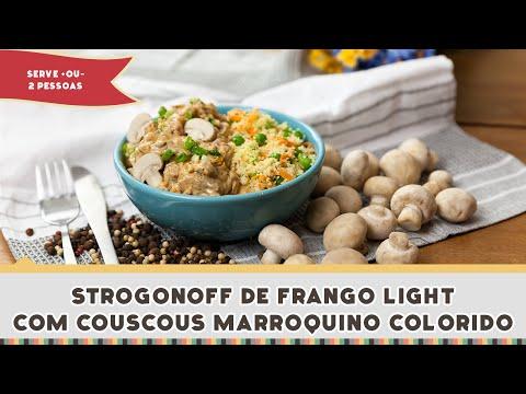 Strogonoff de Frango Light - Receitas de Minuto