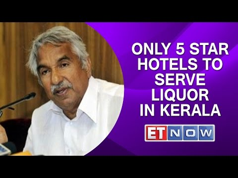 Only 5 Star Hotels to Serve Liquor In Kerala