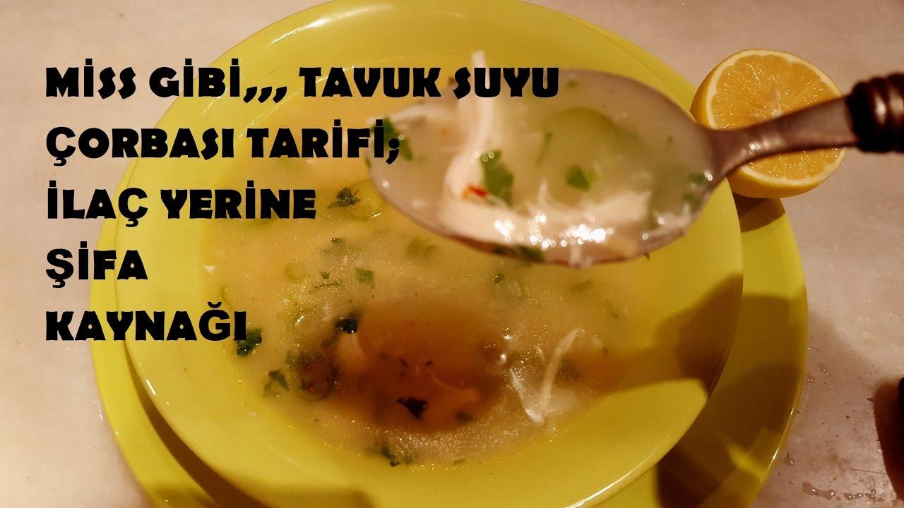 Düşük Kalorili Tavuk Suyu Çorbası
