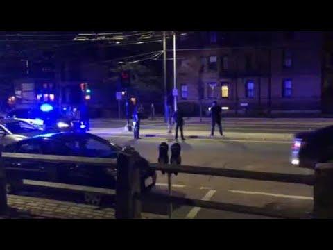 Video Shows Arrest Of Naked Harvard Student