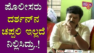 Jaggesh Lashes Out At Challenging Star Darshan
