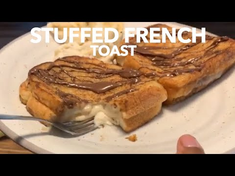 How to make Delicious Stuffed French toast Stuffed with Banana Cream