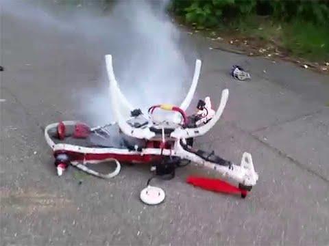 I BROKE MY DRONE PHANTOM 4