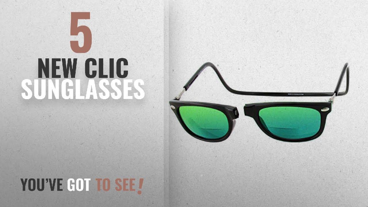 993b043bb0 Top 10 Clic Sunglasses   Winter 2018    Clic Ashbury Polarized Bi-Focal  Reading Sunglasses in Black