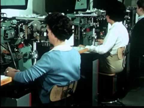 AT&T Bell Labs 1 ESS (Electornic Switching System) Manufacturing Processes (1965)