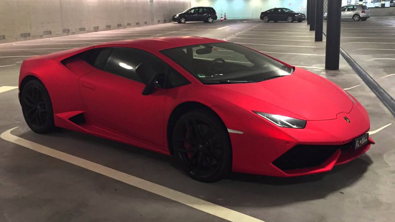 Lamborghini Huracan Lp 610 4 Matte Red 1 1 Youtube