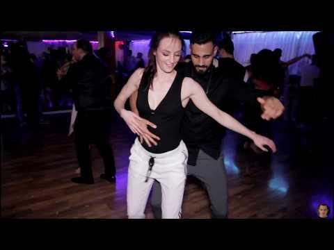 Nerya And Jomante @Social Sensual bachata dance [Cancioncitas de Amor]