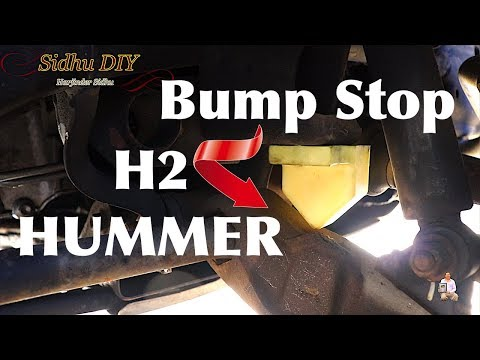 How To Replace Bump Stop on HUMMER H2 | Install Front Bump Stops on HUMMER
