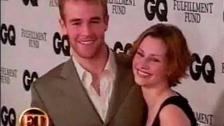 James Van der beek says he cant stand Joshua jackson in Dawson's Creek interview.