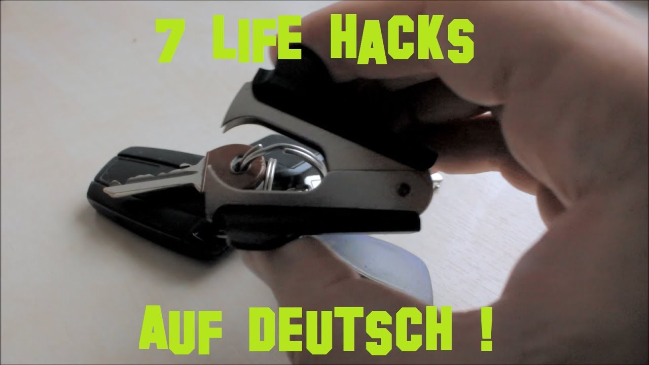 life hacks auf deutsch with english subtitle youtube. Black Bedroom Furniture Sets. Home Design Ideas