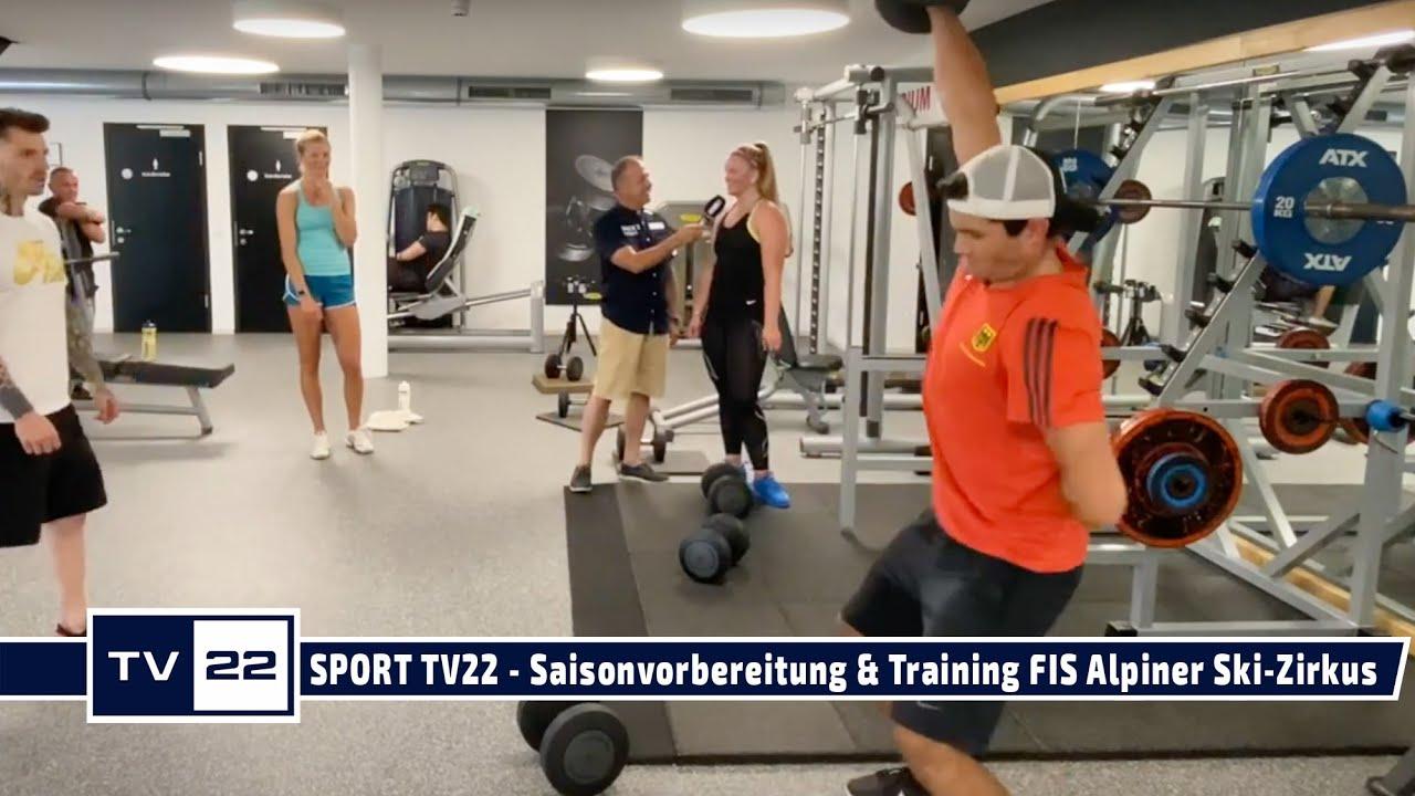 SPORT TV22: Saisonvorbereitung und Konditionstraining für den FIS Alpinen Ski Zirkus in Seefeld
