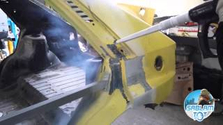 curatare vopsea veche, sablare auto cu gheata carbonica - SablamTOT www.sablamtot.ro