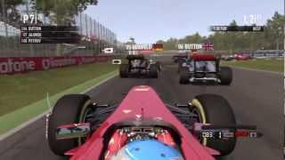 F1 2011 Game - Monza, Italian Grand Prix HD
