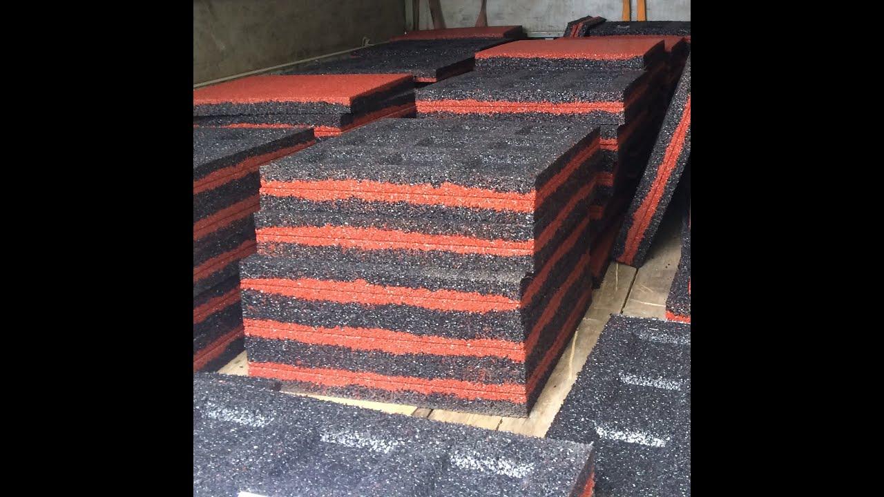 Производство резиновой плитки фото