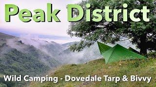 Peak District Wild Cing Dovedale TarpBivvy