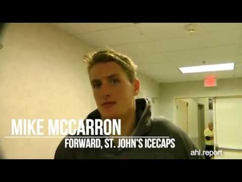IceCaps McCarron, Friberg, Lefebvre Interviewed by AHL Report