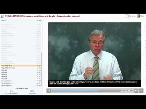 Becker CPA Exam Review Course Demo: Financial F5