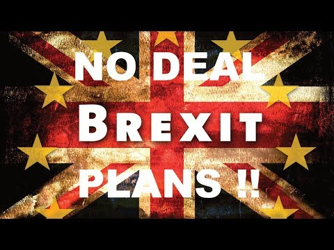 Brexit 'no-deal' plans unveiled!