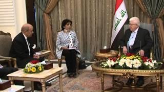 مباحثات عراقية فرنسية للتسليح ومواجهة الإرهاب