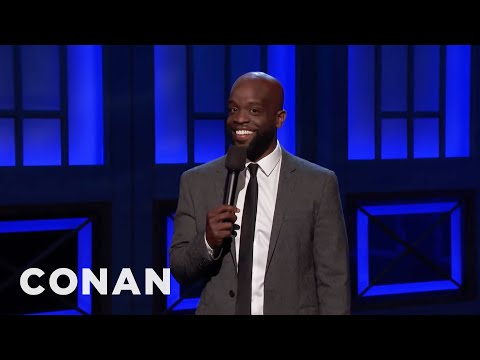 Rell Battle Is A Retired Protester  - CONAN on TBS