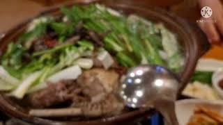 안산맛집MUKBANG,  능이버섯오리백숙, 토종닭백숙,…