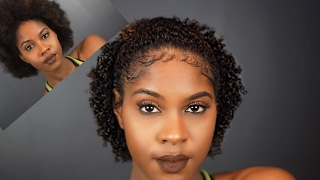 EASY DEFINED CURLS AND COILS | NATURAL HAIR